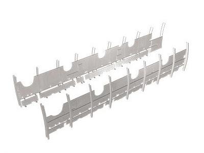 Panneaux intérieurs latéraux blindés pour aéronefs / Inside armored lateral panels for aircrafts