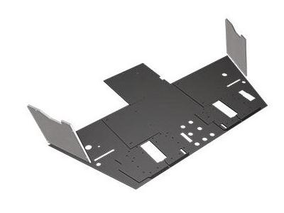 Plancher blindé modulaire en céramique / Ceramic modular armored floor