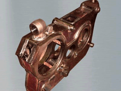 Corps de réducteur de TGV / TGV reduction gearbox