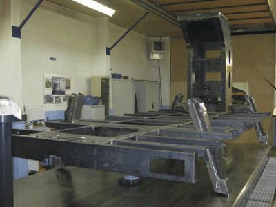 Châssis de nacelle élévatrice / Aerial bucket chassis
