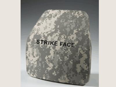 Plaque balistique avant / Ballistic plate, strike face