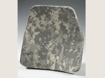Plaque balistique arrière / Ballistic plate, back side