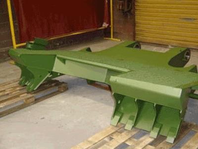 Stabilisateur de tir canon automoteur CAESAR / CAESAR Self-propelled artillery shooting stabilizer