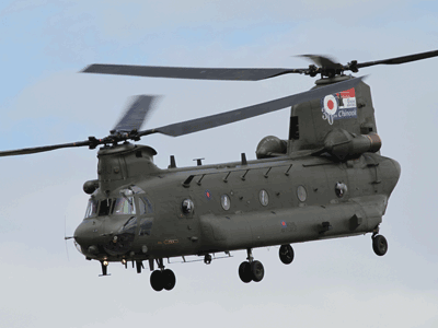 Surprotection balistique pour hélicoptère type Chinook / Ballistic add on armor for Chinook helicopter